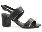 komfortowe sandały Marco Tozzi  28335 - kolor: czarny