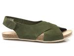sandały bezszwowe Yokono OASIS 075 - kolor: khaki