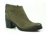 botki Carinii b3016 - kolor: zielony nubuk /wewn. koc/