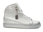 sneakersy Badura 6337 botki Andrea - kolor: srebrny