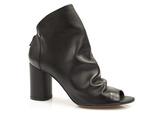 odkryte botki Badura 7791 sandały Ola - kolor: czarny lico