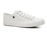 trampki damskie Big Star V274869, V274871 - kolor: biały