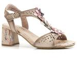 eleganckie sandały Laura Vita Jachino - kolor: beż