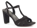 komfortowe sandały Marco Tozzi 28390 - kolor: czarny