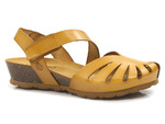 sandały Yokono Monaco 114 - kolor: żółty