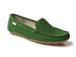 mokasyny półbuty Nessi 17130 - kolor: zielony