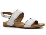 eleganckie sandały Venezia 030020684 - kolor: biały