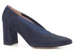 półbuty czółenka Bravo Moda 1891 - kolor: niebieski