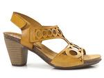 sandały Verano 8128 - kolor: mostaza