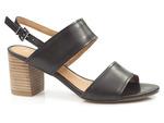 komfortowe sandały Marco Tozzi  28301-26 - kolor: czarny