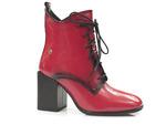 lakierowane botki Maciejka 05303 - kolor: czerwony