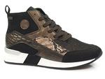 półbuty sneakersy Rieker N7610-00 - kolor: czarny