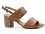 komfortowe sandały Marco Tozzi  28301-26 - kolor: brąz