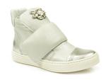 sneakersy Carinii b3522 - kolor: lustro SREBRO