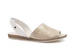 sandały Lemar 40062 - kolor: tagliata złoty+biały
