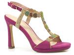 sandały Menbur 21575 - kolor: fucsia