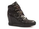 sneakersy Carinii B4387 - kolor: czarny