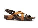 sandały Lemar 40032 - kolor: czekolada+brąz