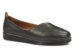 półbuty loafersy Venezia 1302 - kolor: czarny
