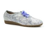 półbuty lordsy ANN MEX 8529 - kolor: niebieski