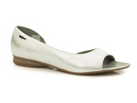 czółenka Maciejka 00554 - kolor: biały srebro