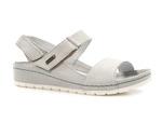 sandały soft Lemar 50052 - kolor: szary