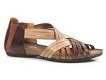 sandały rzymianki Verano 1204 - kolor: brąz