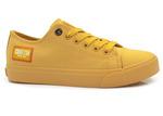 trampki tekstylne Big Star - kolor: żółty