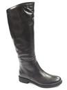 kozaki oficerki Lemar 70107 - kolor: czarny