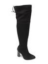 muszkieterki Carinii b3020 - kolor: czarny nubuk