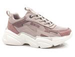 półbuty sportowe sneakersy Big Star HH274255/ HH274258 - kolor: fiolet