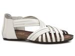 sandały rzymianki Verano 1204 - kolor: biały