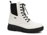 trzewiki z futerkiem Rieker Tex X3414-80 - kolor: biały