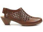 sandały Rieker 46775-24 - kolor: brąz