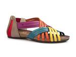 sandały rzymianki Verano 1204 - kolor: multi