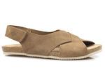 sandały bezszwowe Yokono OASIS 075 - kolor: beż