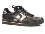 półbuty sneakersy Nessi 21023 - kolor: czarny