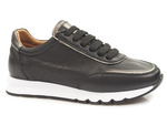 półbuty sneakersy Venezia 445103 - kolor: czarny