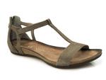 sandały Carinii b3779 - kolor: szary welur