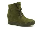 sneakersy Carinii B3519 - kolor: zielony