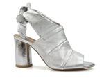odkryte botki Badura 7787 sandały Gulietta - kolor: srebrny lico