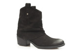 kowbojki botki damskie Lemar 60212 - kolor: czarny