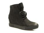 sneakersy Carinii B3519 - kolor: czarny
