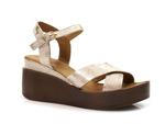 sandały Badura 4814 - kolor: złoty
