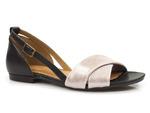 sandały czółenka Maciejka 04614 - kolor: róż czarny