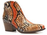 botki kowbojki Gamis 4031 - kolor: anakonda