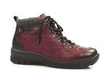 botki trzewiki Rieker L7144-35 Tex - kolor: czerwony