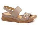 komfortowe sandały Maciejka 04142 - kolor: beżowy