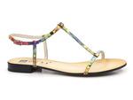 sandały Nessi 21490 - kolor: multikolor