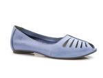 balerinki Maciejka 03497 - kolor: jasny niebieski